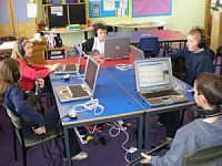 Gigajam in use at Pleckgate