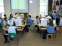 Gigajam in use at Tiverton